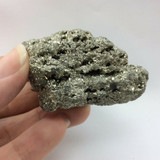 Natural Pyrite Rough Specimen 171024 132g Stone of Vitality Metaphysical