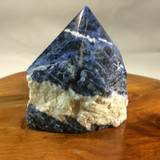 High Quality Sodalite Point Specimen 180510 75mm Stone of Higher Mind Healing