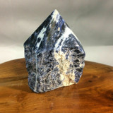 High Quality Sodalite Point Specimen 180509 78mm Stone of Higher Mind Healing