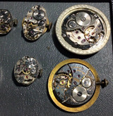 Artist Supply 170704 Steampunk Analog Mechanical Watch Face Set with Components