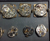 Artist Supply 170703 Steampunk Analog Mechanical Watch Face Set with Components