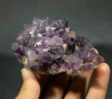 Amethyst Skeletal Elestial Specimen 6oz 1712111 Mineral Crystal Metaphysical