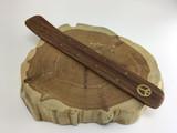 10in Wooden Stars and Peace Sign Incense Holder Burner Holisitic Meditation Healing Reiki