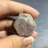 Natural Rough Ruby Specimen 161009 India Corundum Red Pink Mineral Crystal