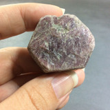 Natural Rough Ruby Specimen 161012 India Corundum Red Pink Mineral Crystal