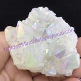 MeldedMind Titanium Coated Quartz Crystal Specimen 69mm 5oz Metaphysical