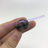 MeldedMind149 Chiastolite Pocket Stone 20mm Tumbled Specimen Metaphysical