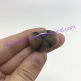 MeldedMind151 Chiastolite Pocket Stone 26mm Tumbled Specimen Metaphysical