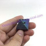MeldedMind204 Titanium Coated Pyramid 23mm Decor Display Healing