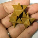 MeldedMind033 One (1) Indian Agate Merkaba Divinatons Crystal Healing