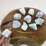 MeldedMind122 One (1) Natural Blue Aragonite Specimen Small Rough Crystal