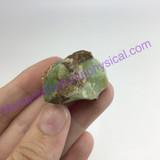 MeldedMind301 Natural Variscite Specimen 29mm Rough Mineral Crystal Metaphysical