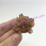 MeldedMind190 Brown Aragonite Crystal Specimen 29mm Sefrou Morocco