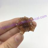 MeldedMind191 Brown Aragonite Crystal Specimen 30mm Sefrou Morocco