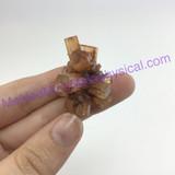 MeldedMind192 Brown Aragonite Crystal Specimen 39mm Sefrou Morocco