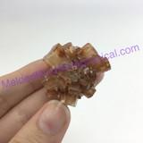 MeldedMind193 Brown Aragonite Crystal Specimen 30mm Sefrou Morocco