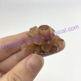 MeldedMind195 Brown Aragonite Crystal Specimen 32mm Sefrou Morocco