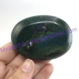 MeldedMind139 Moss Agate Palm Stone 63mm Abundance Metaphysical