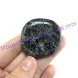 MeldedMind159 Swirly Kambaba Jasper Crocodile Palm Stone 37mm Metaphysical