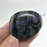 MeldedMind162 Swirly Kambaba Jasper Crocodile Palm Stone 41mm Metaphysical