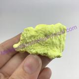 MeldedMind Louisiana Sulphur Sulfur Specimen 36mm Mineral Healing 352