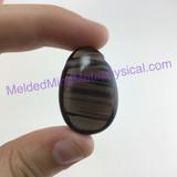 MeldedMind Smoky Quartz Crystal Focal Bead Pendant 30mm Stone of Protection Metaphysical 198