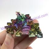 MeldedMind Bismuth Specimen 2.13 inches 54.2mm Germany Rainbow 163
