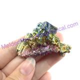 MeldedMind Bismuth Specimen 2 inches 50.7mm Germany Rainbow 165