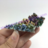 MeldedMind Bismuth Specimen 2.58 inches 65.7mm Germany Rainbow 167