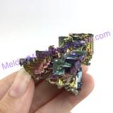 MeldedMind Bismuth Specimen 2.01 inches 51.2mm Germany Rainbow 171