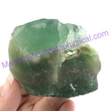 MeldedMind Rough Green Fluorite 2.51 in 63.8mm China Natural Crystal Stone 172