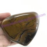 MeldedMind Large Tiger Iron Massage Stone 3.41in 86.7mm Holistic Metaphysical 092