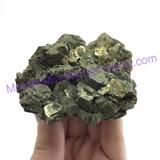 MeldedMind Pyrite & Magnatite Rough Specimen 2.90 in 73mm Balancing Chakra 266