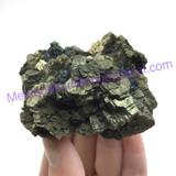 MeldedMind Pyrite & Magnatite Rough Specimen 2.85 in 72mm Balancing Chakra 268