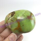 MeldedMind Green African Opal Pistachio Palm Stone 2.24in 57mm Madagascar 468