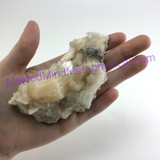 MeldedMind Stilbite Crystal Cluster 4.17in 106mm Nashik, India 275