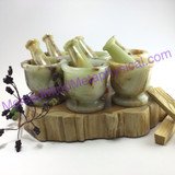 MeldedMind217 Onyx 2.5in Mortar&Pestle Great for Herb Grinding and Crushing