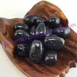 MeldedMind046 One (1) Nuummite Tumbles China Sorcerers' Stone