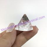 MeldedMind XL Apophyllite Tip Crystal Specimen 1.19in Mineral Heart India 235