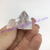 MeldedMind XL Apophyllite Tip Crystal Specimen 1.09in Mineral Heart India 236