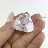 MeldedMind XL Apophyllite Tip Crystal Specimen 1.19in Mineral Heart India 237