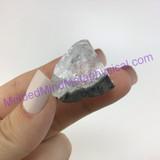 MeldedMind XL Apophyllite Tip Crystal Specimen 1.23in Mineral Heart India 240