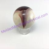 MeldedMind Polished Mookaite Mookite Jasper Sphere 1.96in 50mm Emotional Calm237