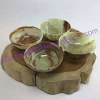 MeldedMind Onyx 3in 75mm Bowl for Jewely Tumbles or Catch All 843