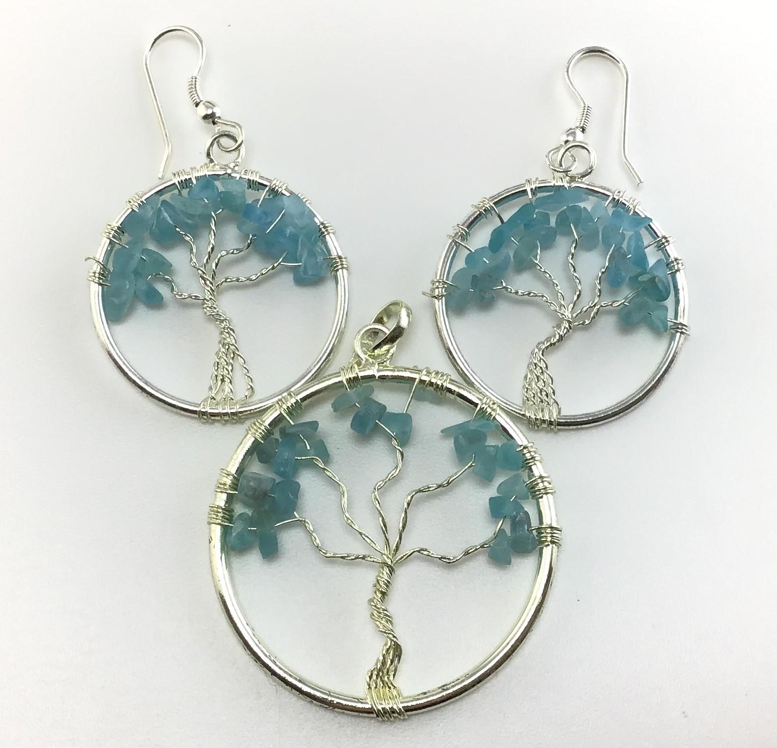 blue apatite jewelry