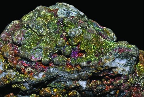 Bornite, via Wikipedia Commons