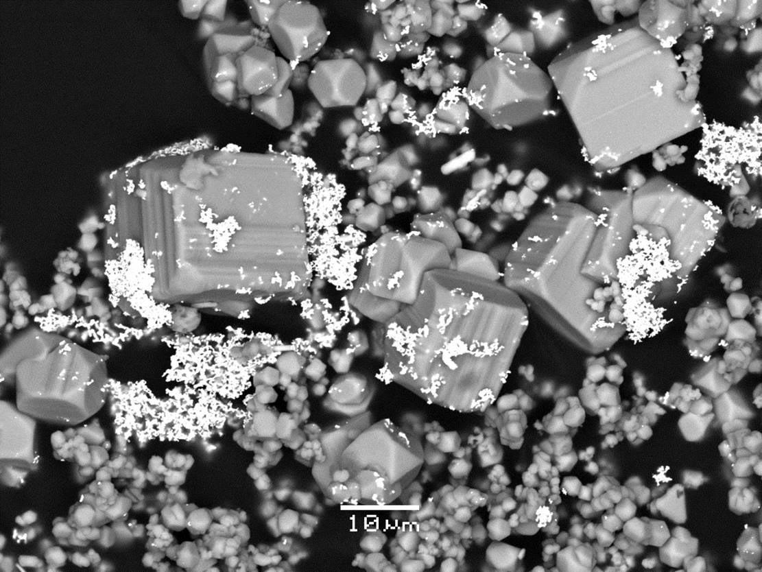 Gold Microparticles, via Maria Kokh and Gleb Pokrovski