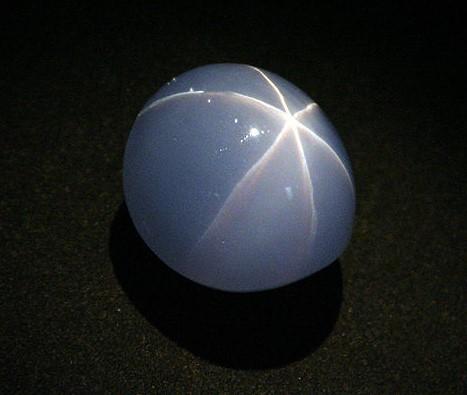 Star Sapphire, via Wikipedia Commons
