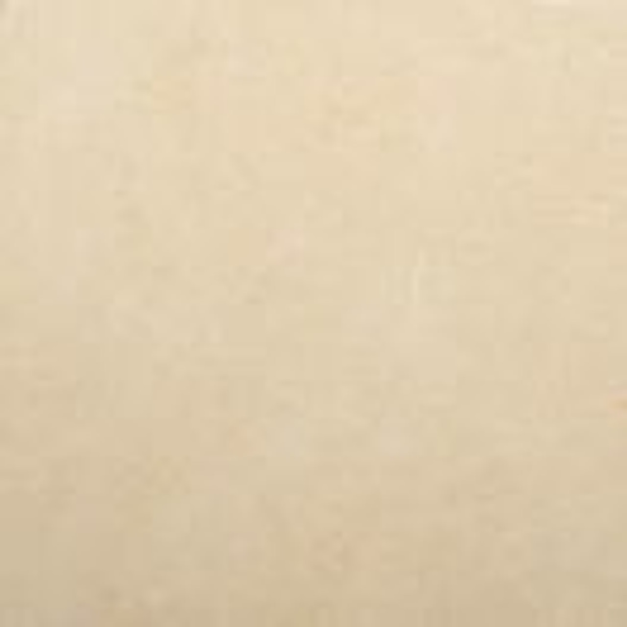 Cream limestone sample