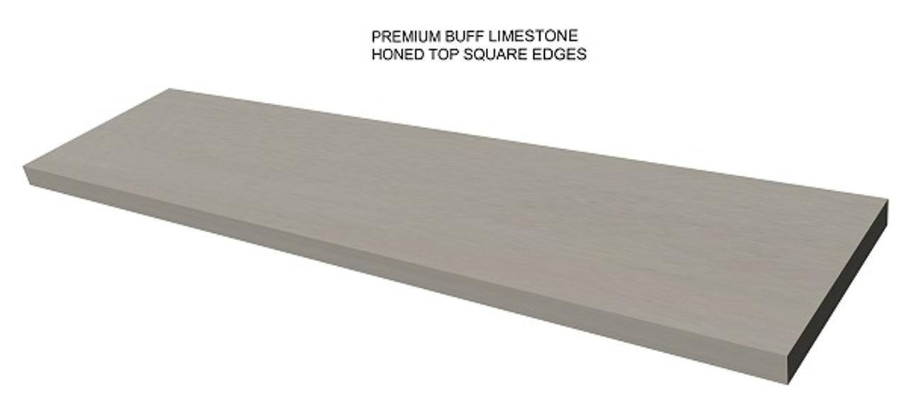 Premium Buff Limestone Fireplace Hearth